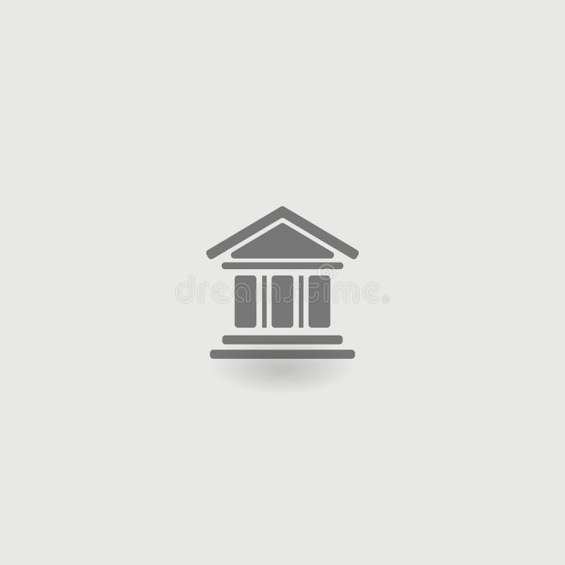 Polityczny dom, ikona również zwrócić corel ilustracji wektora 10 eps ilustracji