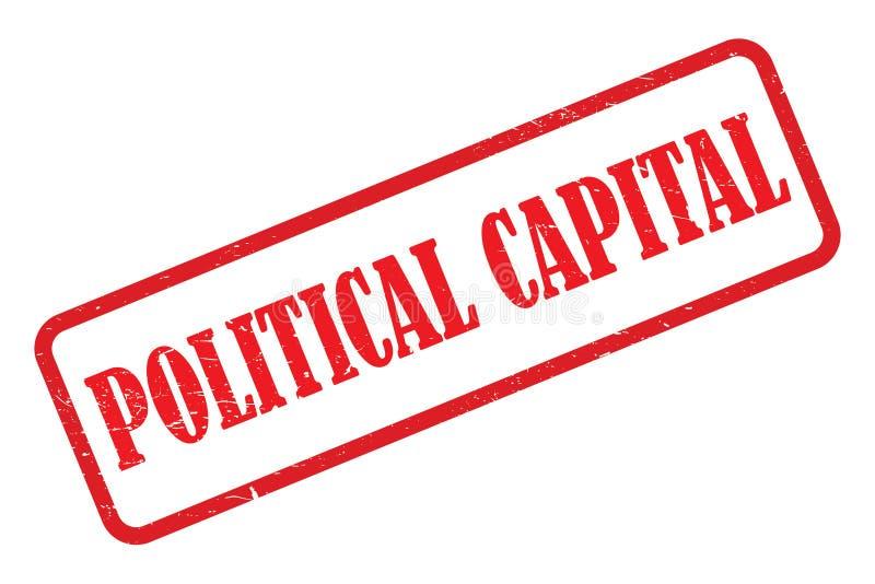 polityczny kapita? royalty ilustracja
