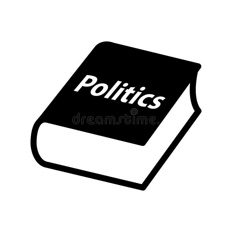 Polityka rezerwują ikonę, Wektorowa ilustracja ilustracja wektor
