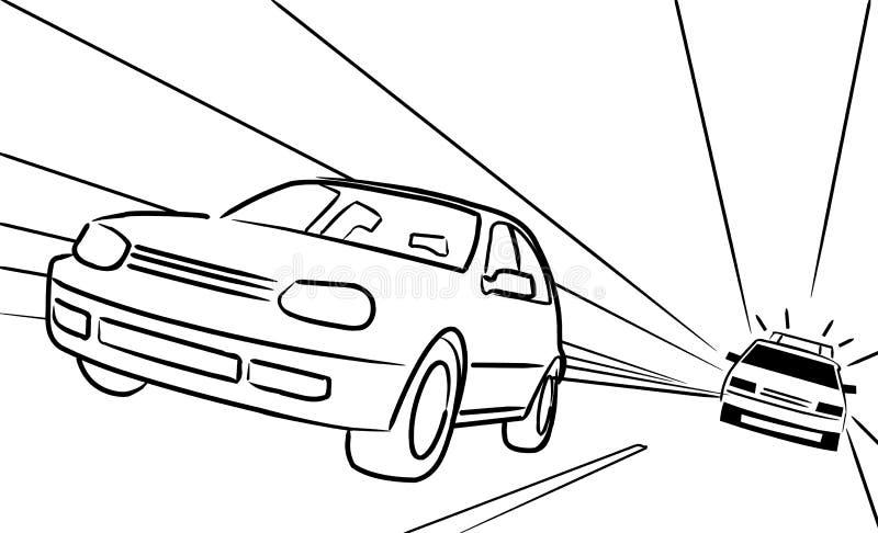 Polizei vektor abbildung