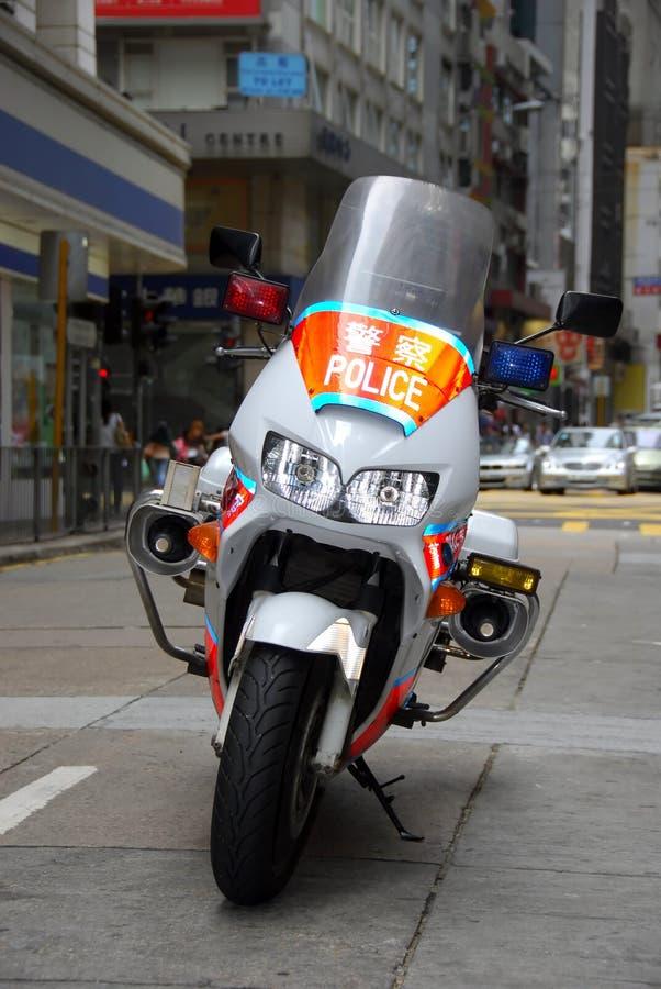 Polizei-Motorrad stockbilder