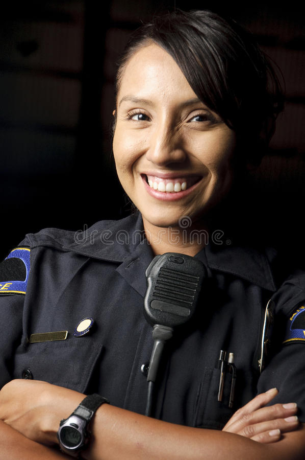 Polizeibeamte stockbild