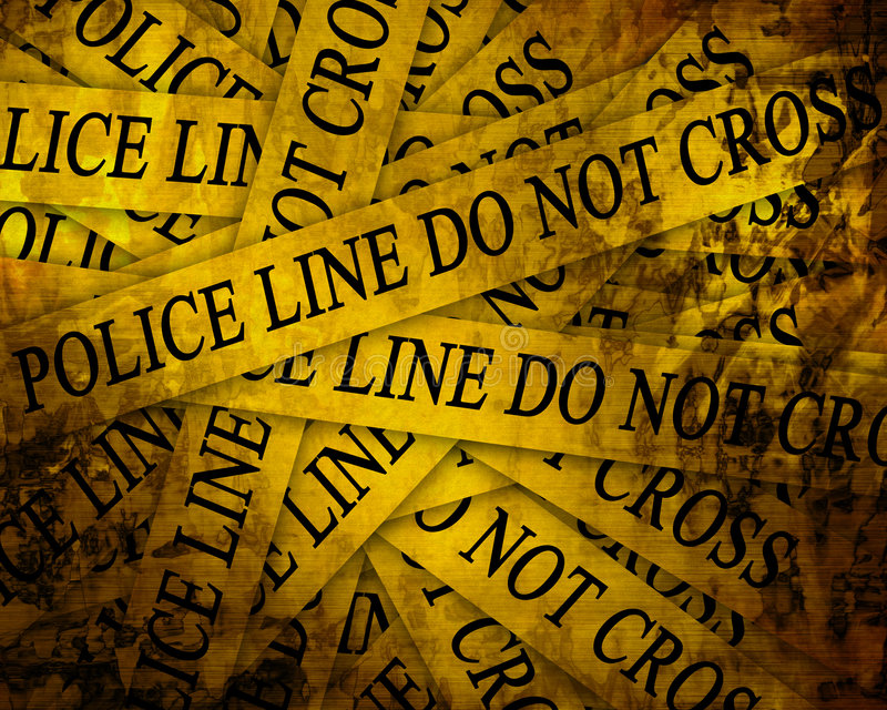 Polizeiliche Untersuchung vektor abbildung