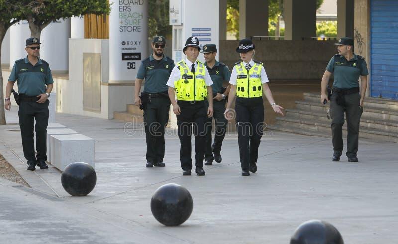 Polizeipatrouille 029 stockbilder