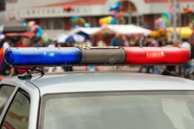 Polizeiwagen lizenzfreie stockfotografie
