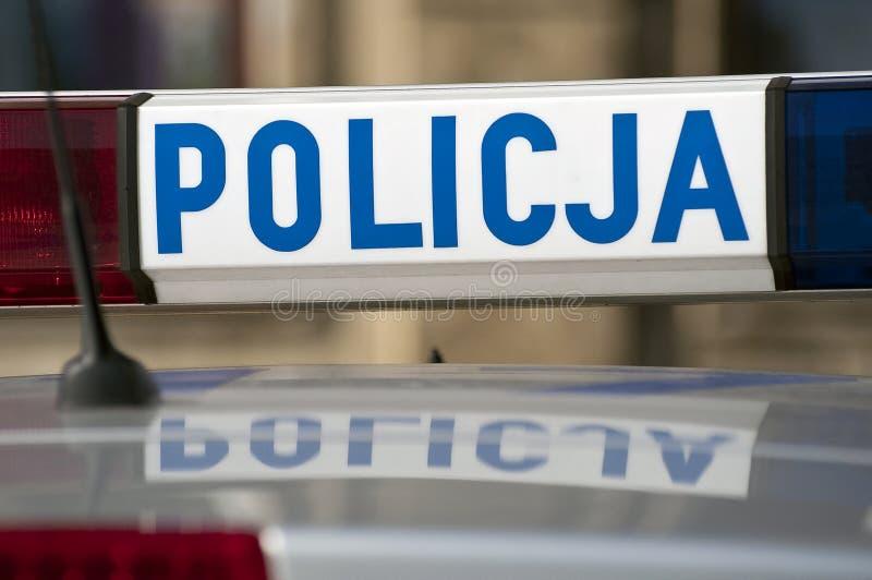 Polizeiwagen. stockfotos