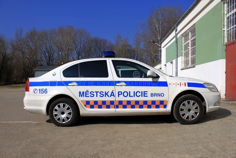 Polizeiwagen Redaktionelles Foto