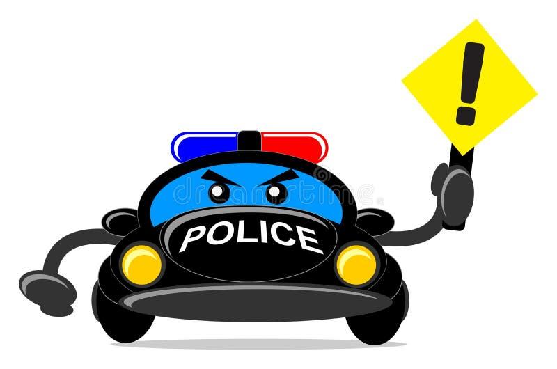 Polizeiwagen vektor abbildung