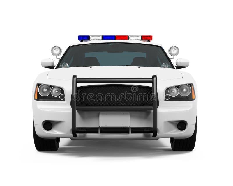 Polizeiwagen getrennt stockbilder