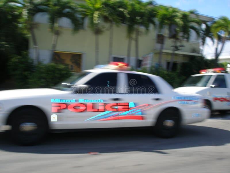 Polizia del Miami Beach immagini stock