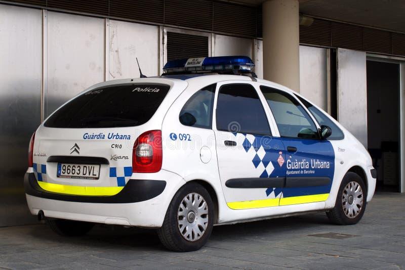 Polizia di Barcellona fotografia stock