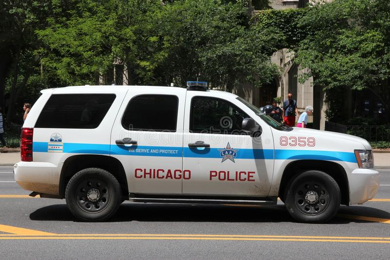 Polizia di Chicago fotografie stock