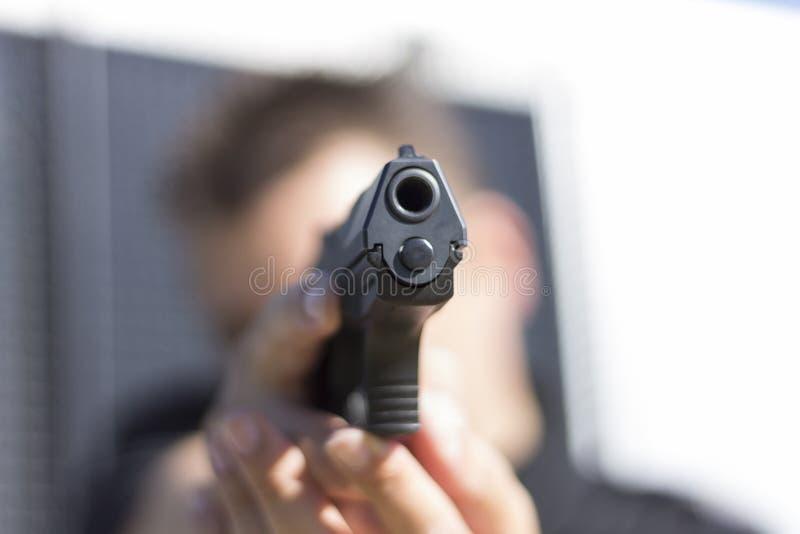 Polizia formata fotografia stock libera da diritti