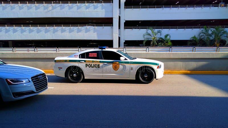 Polizia K9 di Miami-DADE fotografia stock