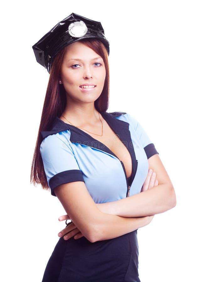 Poliziotta sexy immagini stock libere da diritti