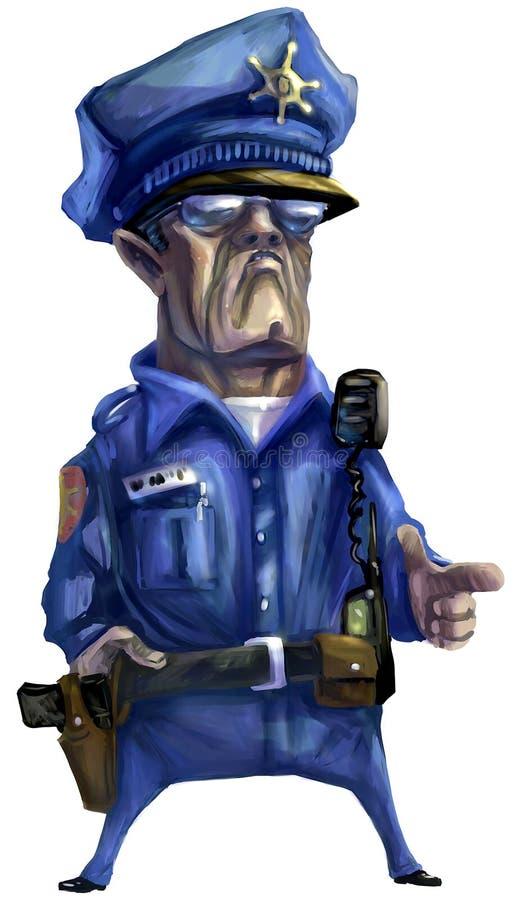 Poliziotto royalty illustrazione gratis