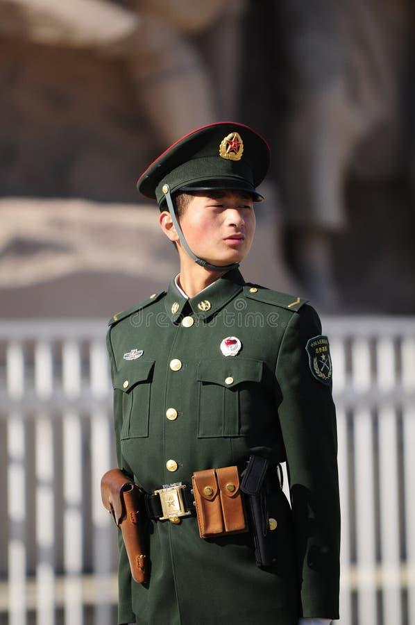 Poliziotto cinese immagini stock libere da diritti