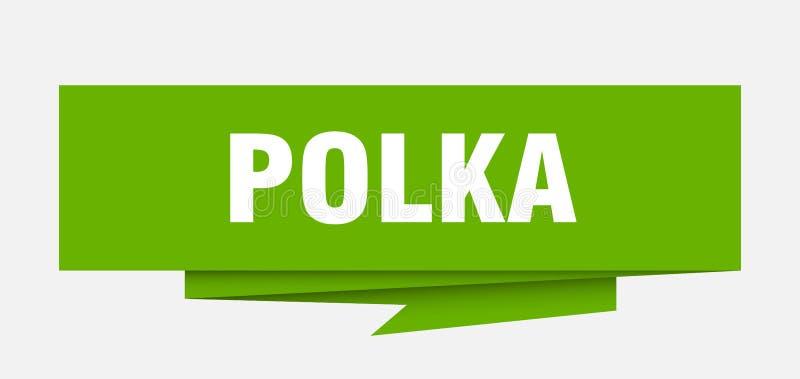 polka royaltyfri illustrationer