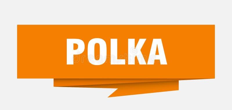 polka vektor illustrationer