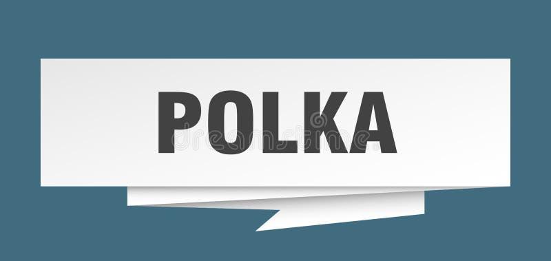 polka stock illustrationer