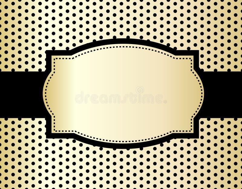 Polka background royalty free illustration