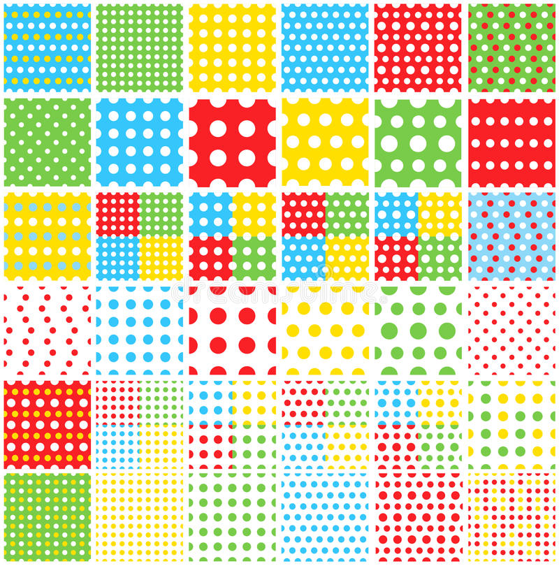 Download Polka dot stock vector. Image of grunge, collection, detail - 21245819