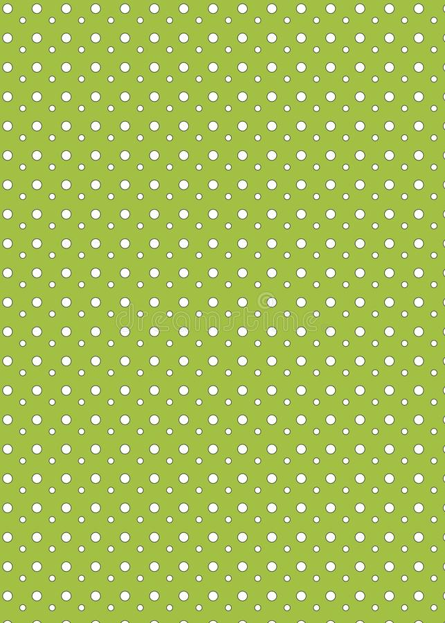 Download Polka dot background stock illustration. Illustration of spotted - 15757436