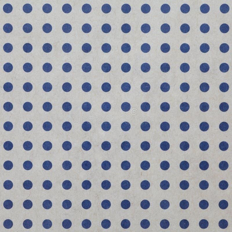 Polka dot background. Seamless blue Polka dot background stock photo