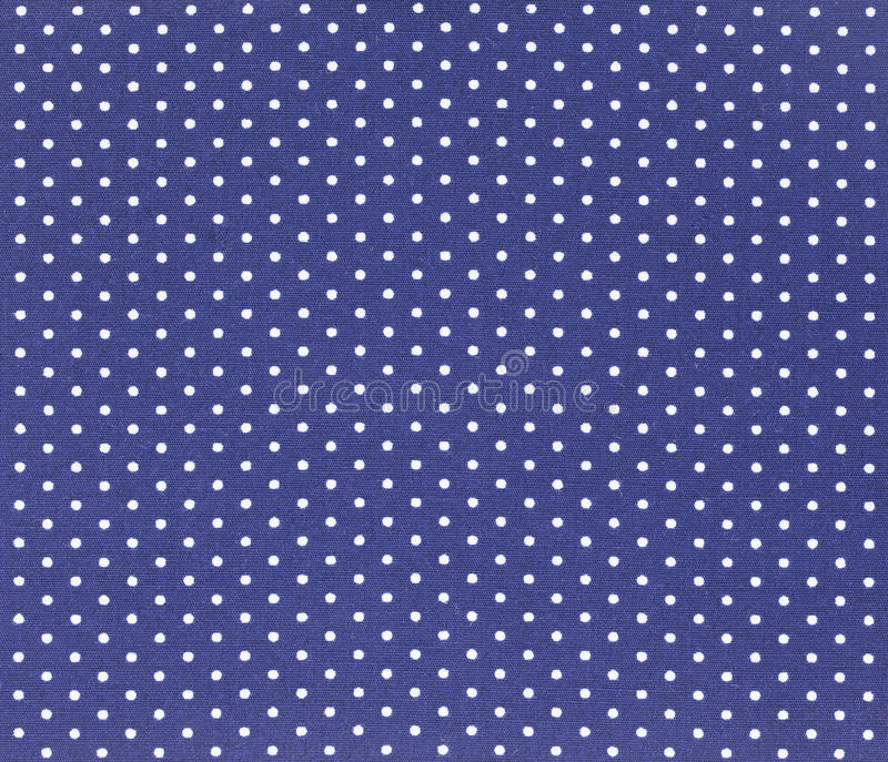 Polka dot Fabric stock photo