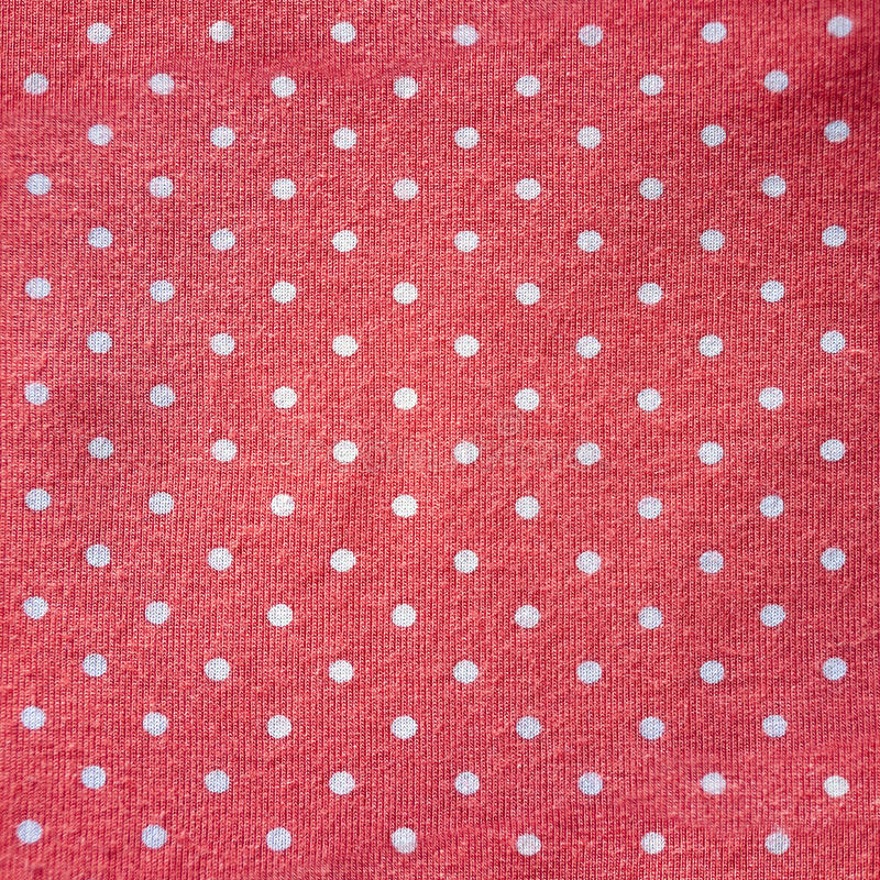 Polka-dot fabric stock photos