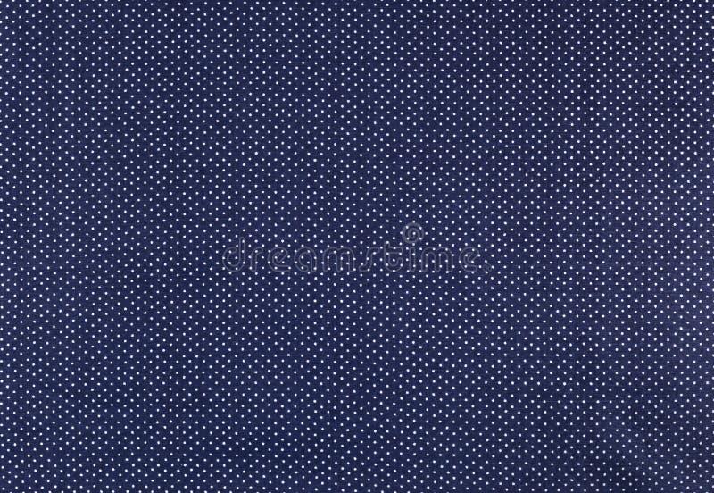 Polka dot fabric royalty free stock photography
