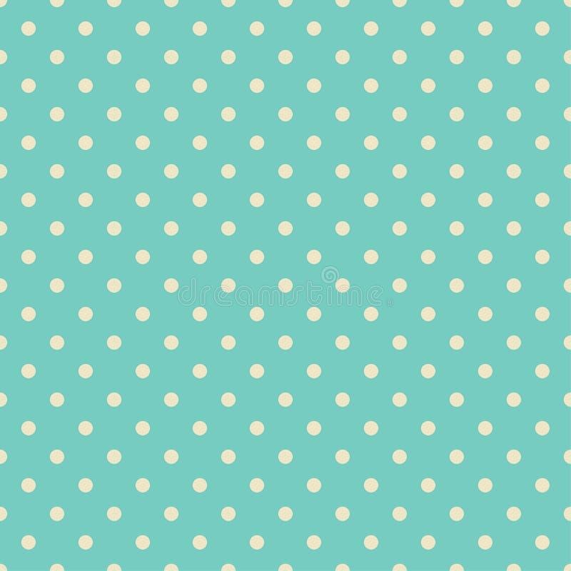 Polka Dot Pattern, fondo senza cuciture di vettore illustrazione di stock