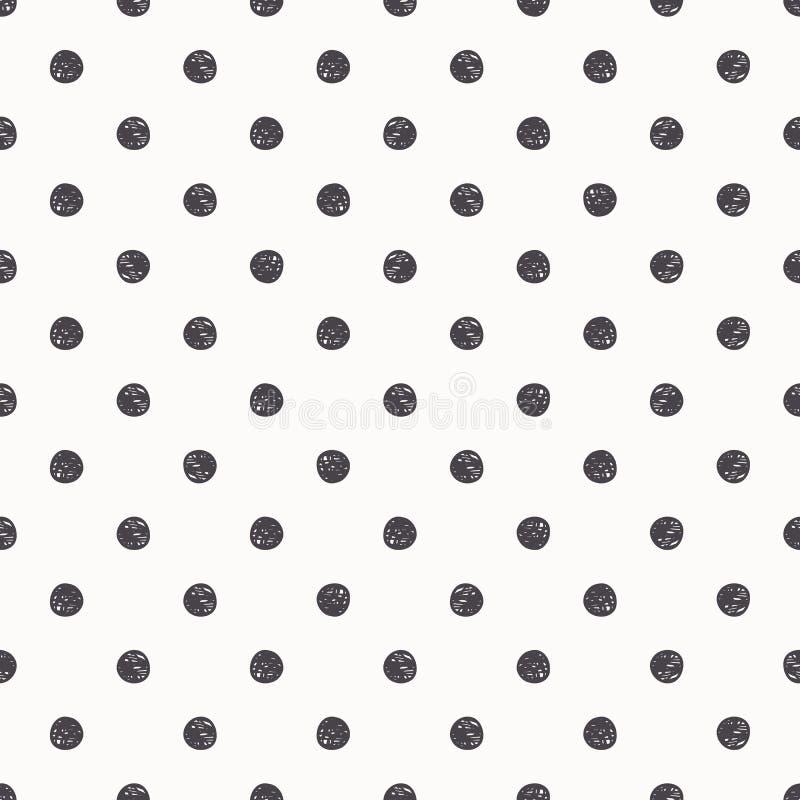 Free Polka Dot Seamless Pattern Background Royalty Free Stock Photos - 52197088