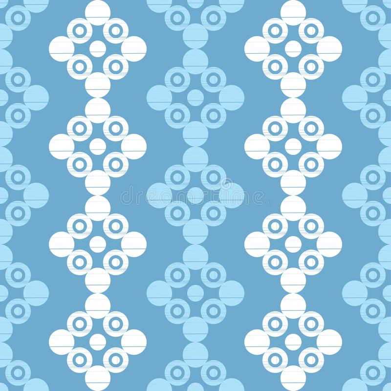 Polka dot seamless pattern. Geometric background. Dots, circles and buttons. Тextile rapport vector illustration