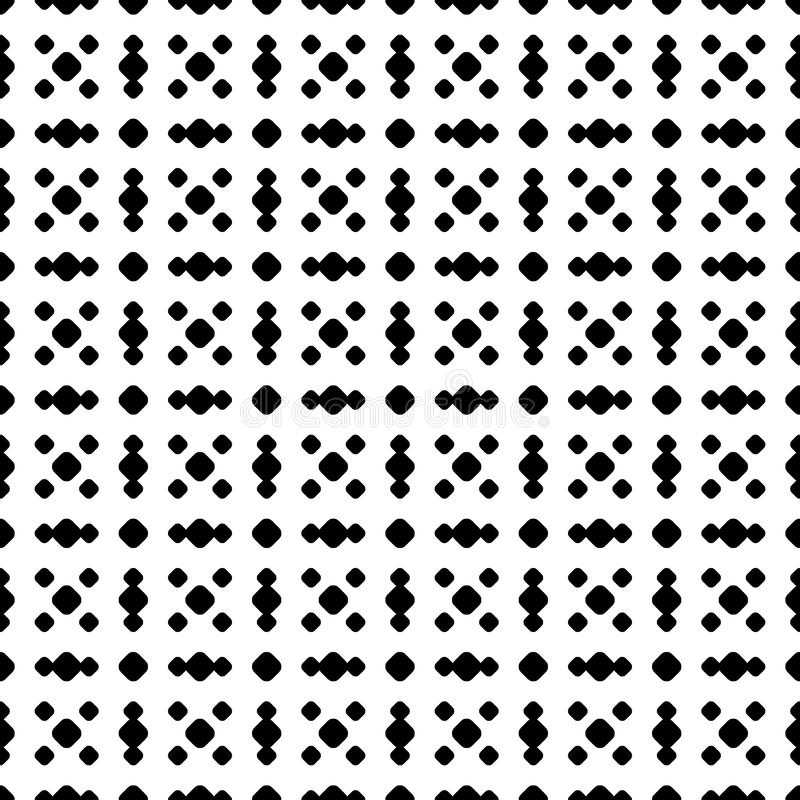 Polka dot seamless pattern, vector subtle dotted texture. royalty free illustration