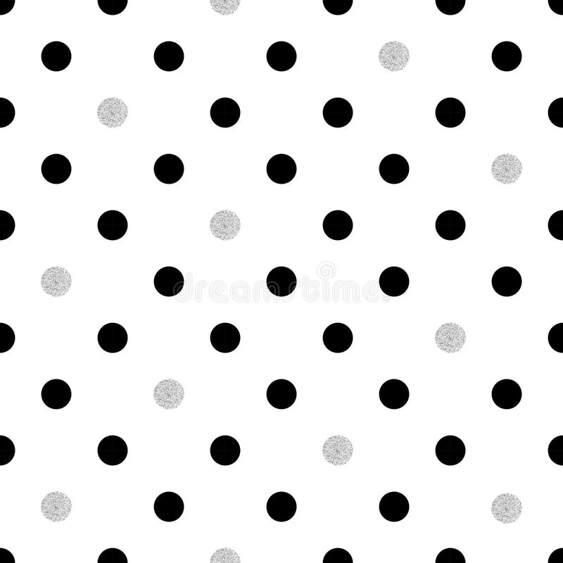 polka dot seamless pattern stock vector illustration of textile rh dreamstime com vector polka dot pattern free vector dot pattern gradient