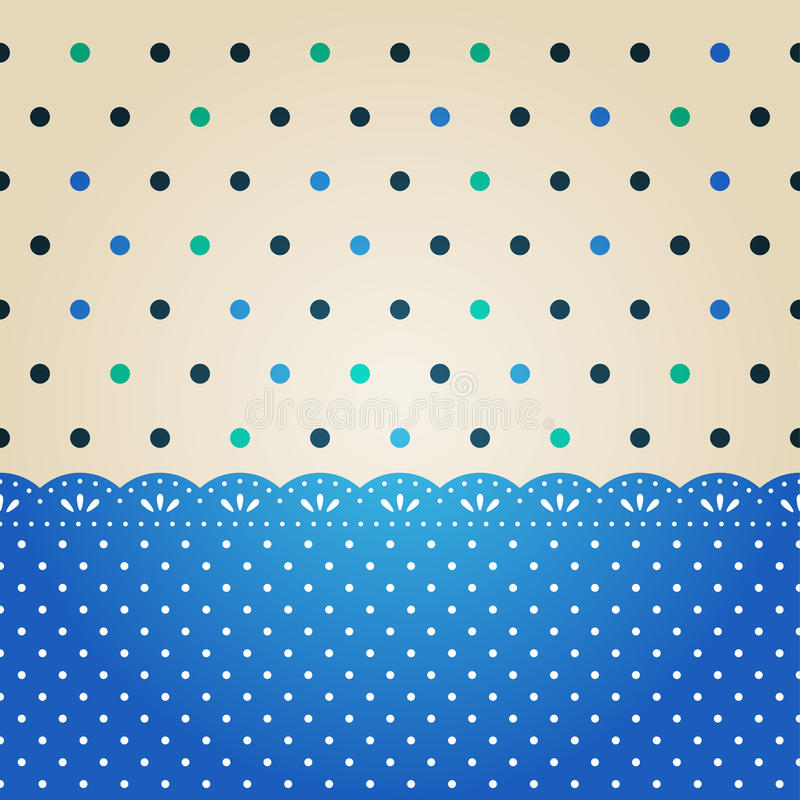 Download Polka dot texture stock vector. Image of background, card - 26058412