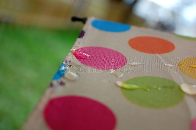 Polka Dot Umbrella stock foto's