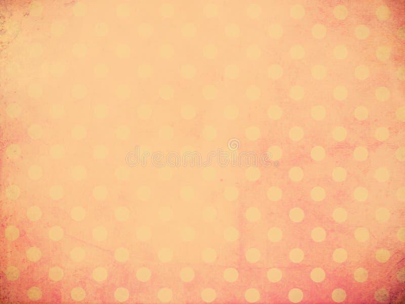 Polka Dot Wallpaper stock foto's