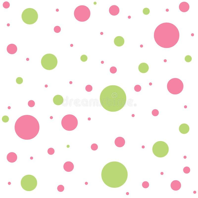 Polka dots royalty free illustration