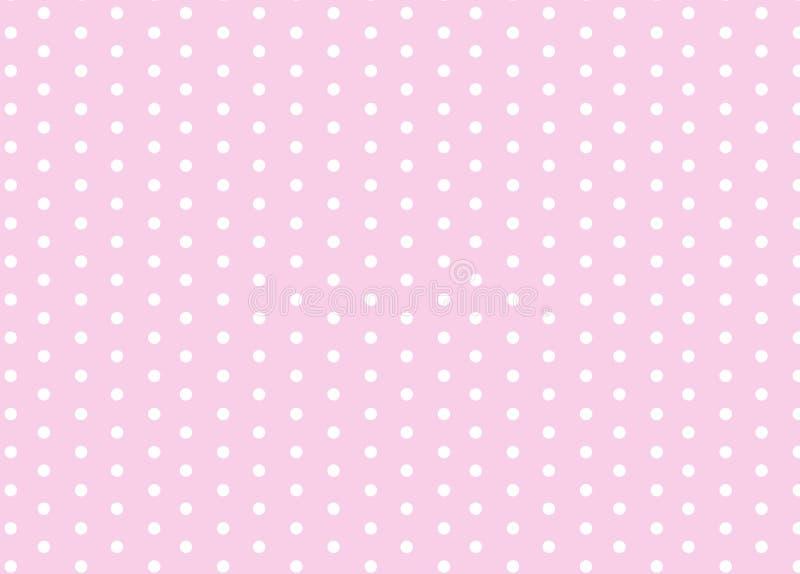 Polka dots vector illustration