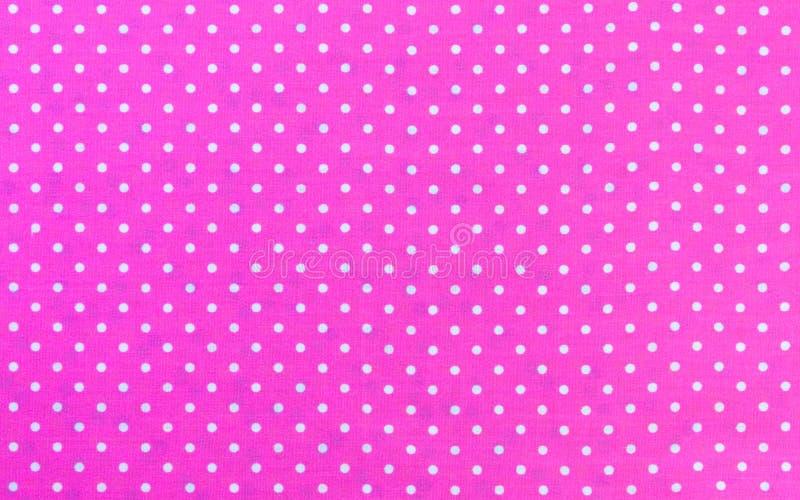 Polka Dots Fabric royalty free stock image