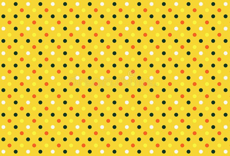 Polka dots vector illustration