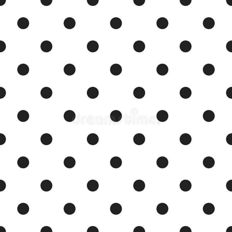 Polka Dots Seamless Pattern stock illustration