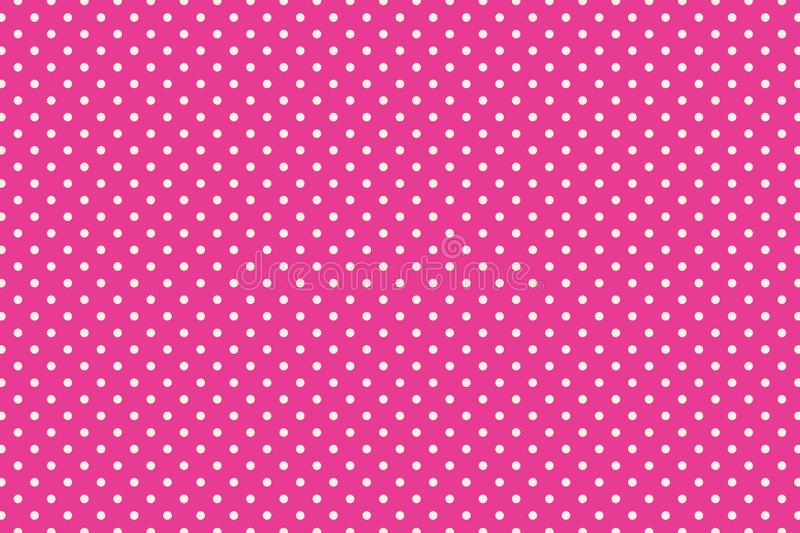 Polka dots stock illustration
