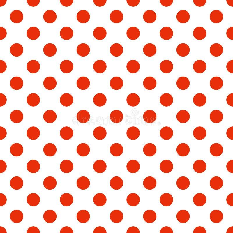 Polka dots vector royalty free stock photo