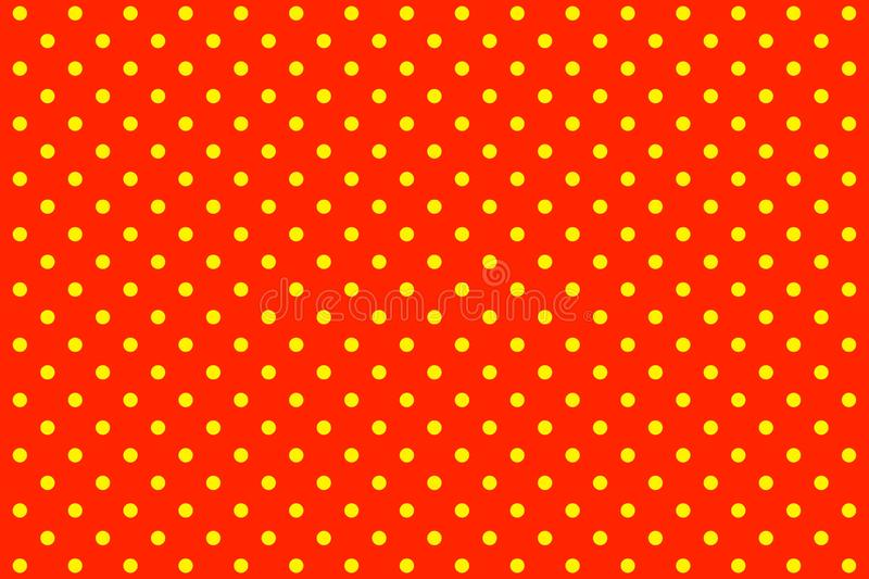 Polka dots royalty free illustration