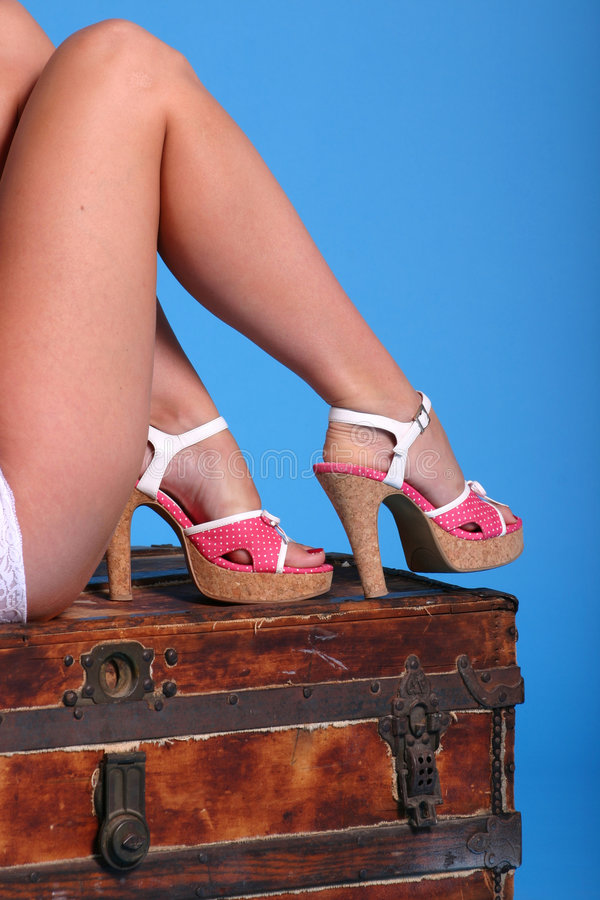 Download Polkadots stock photo. Image of cork, ankle, shorts, shoe - 171414