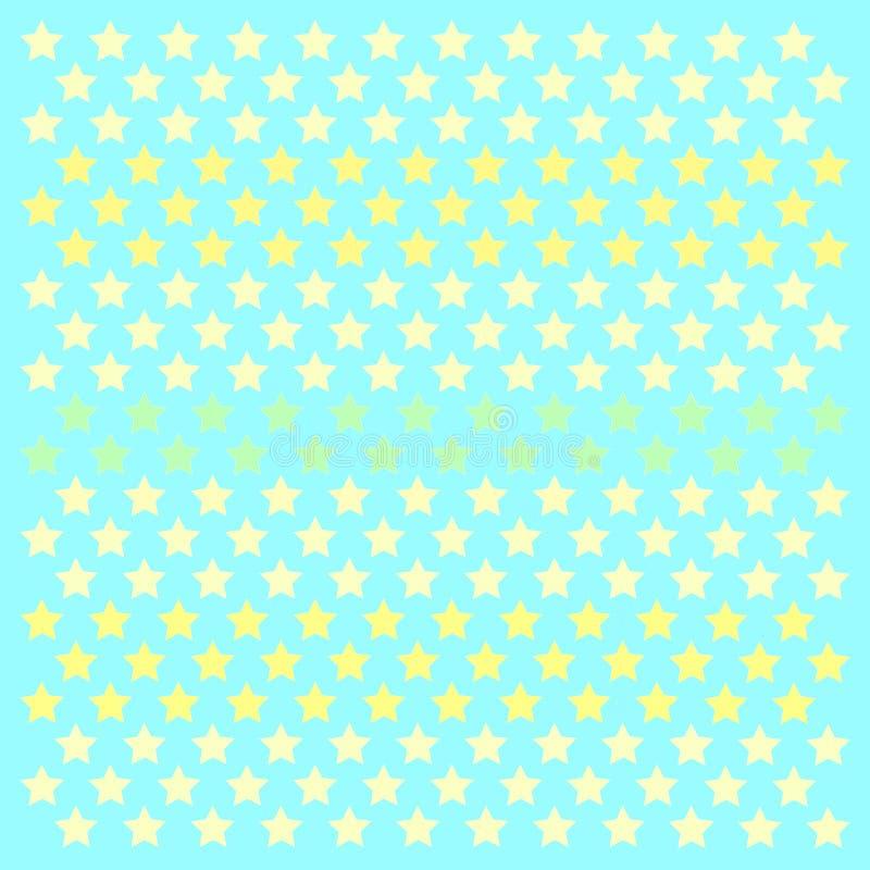 Polkastars patern de las pequeñas estrellas ilustración del vector