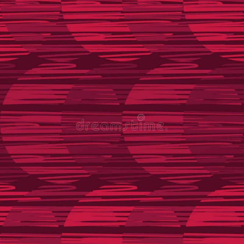 Polki kropki bezszwowy wzór Kolorowe piłki Tekstura paski ilustracja wektor